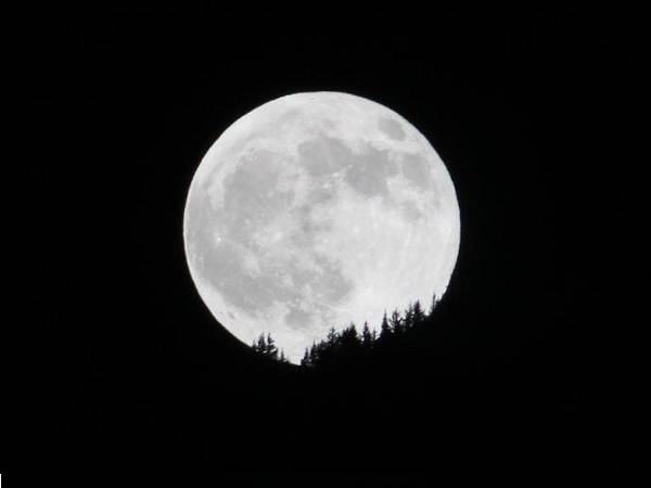 La vallée Blanche en pleine lune avec un guide